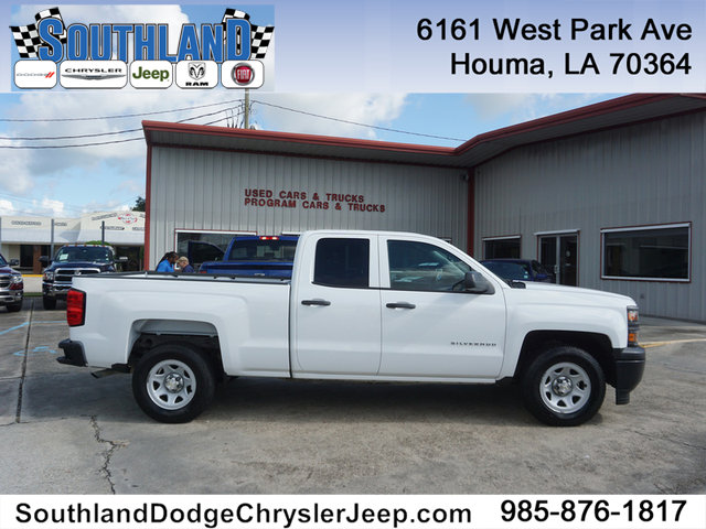 2015 Chevrolet Silverado 1500 Double Cab >> Pre Owned 2015 Chevrolet Silverado 1500 Work Truck 2wd 143wb Rear Wheel Drive Double Cab