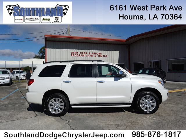 Pre Owned 2017 Toyota Sequoia Platinum 4wd